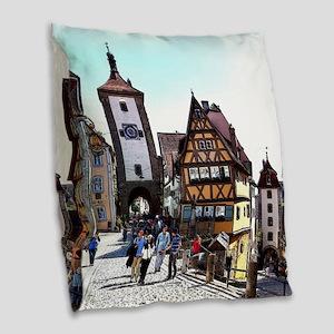 Rothenburg20161201_by_JAMFoto Burlap Throw Pillow
