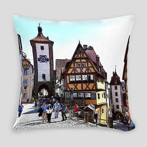 Rothenburg20161201_by_JAMFoto Everyday Pillow