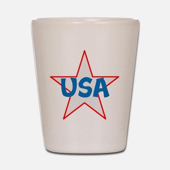 USA, awesome, Shot Glass