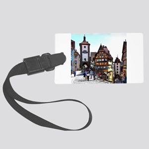 Rothenburg20161201_by_JAMFoto Large Luggage Tag