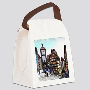 Rothenburg20161201_by_JAMFoto Canvas Lunch Bag