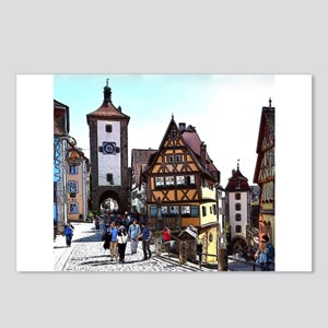 Rothenburg20161201_by_JAM Postcards (Package of 8)