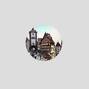 Rothenburg20161201_by_JAMFoto Mini Button