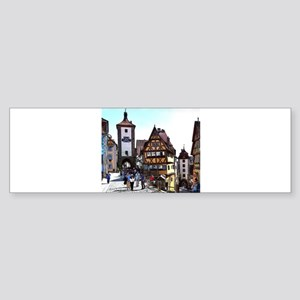 Rothenburg20161201_by_JAMFoto Bumper Sticker