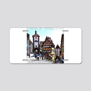 Rothenburg20161201_by_JAMFo Aluminum License Plate