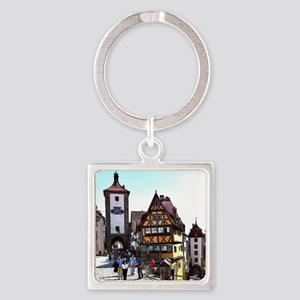 Rothenburg20161201_by_JAMFoto Keychains