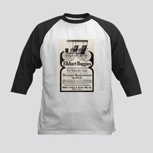 1909 Buggy Ad Kids Baseball Jersey