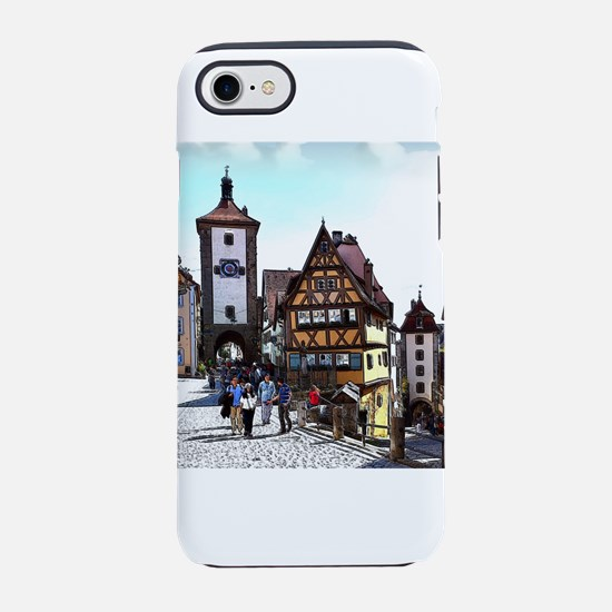 Rothenburg20161201_by_JAMFoto iPhone 7 Tough Case