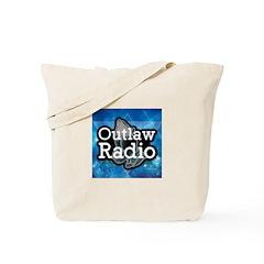 Blue Background Logo Tote Bag