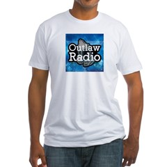 Blue Background Logo T-Shirt
