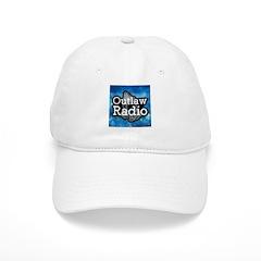 Blue Background Logo Hat