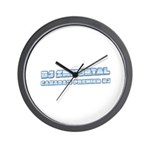DJ Immortal Logo Wall Clock