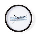DJ Immortal Logo Wall Clock
