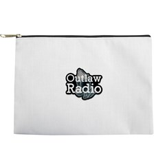 Outlaw Radio Transparent Logo Makeup Bag
