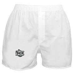 Outlaw Radio Transparent Logo Boxer Shorts
