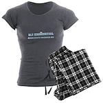 DJ Immortal Logo Women's Charcoal Pajamas
