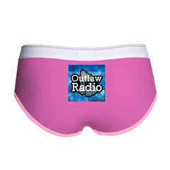 Blue Background Logo Women's Boy Brief