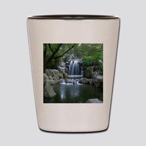 Tranquil Waterfall Shot Glass