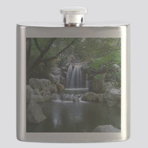 Tranquil Waterfall Flask