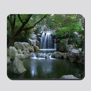 Tranquil Waterfall Mousepad