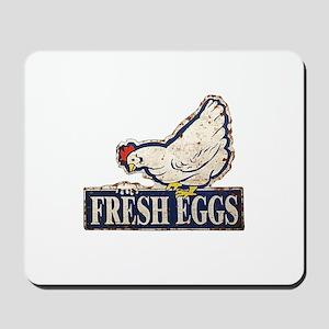 Fresh Eggs Mousepad