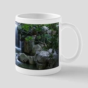 Tranquil Waterfall Mugs