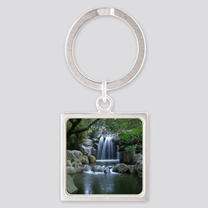 Tranquil Waterfall Keychains