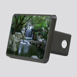 Tranquil Waterfall Rectangular Hitch Cover