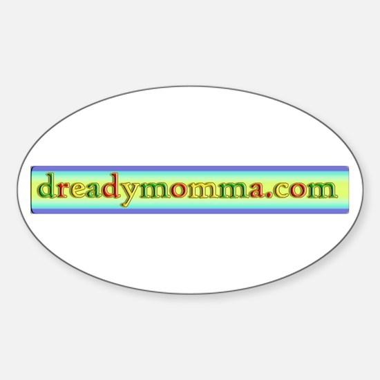 dreadymomma.com Oval Decal