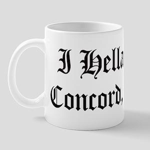 Hella Love Concord Mug