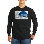Masters Light Bulb Design Long Sleeve Dark T-Shirt
