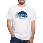 Masters Light Bulb Design White T-Shirt