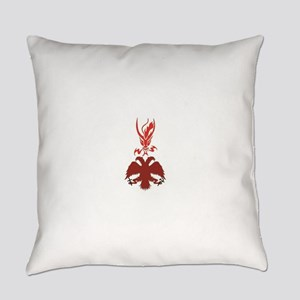 RDOR-Russian eagle and dragon Everyday Pillow