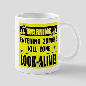 WARNING: Zombie Kill Zone Mug