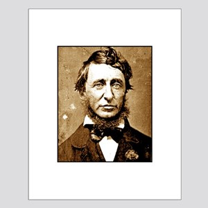 Henry David Thoreau Small Poster