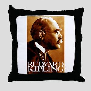 Rudyard Kipling Throw Pillow