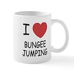 I heart bungee jumping Mug