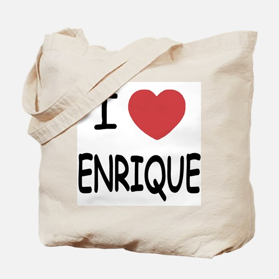 I heart enrique Tote Bag