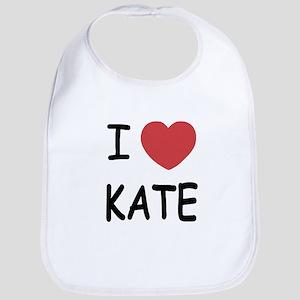 I heart kate Bib