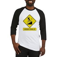High Rails Baseball Jersey