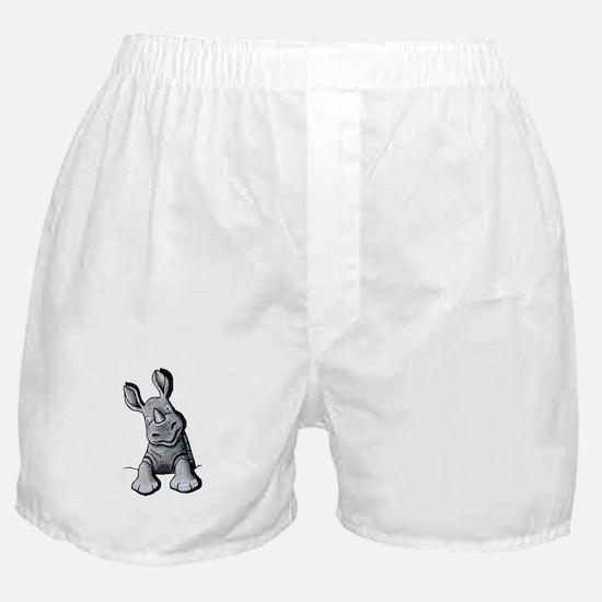 Pocket Rhino Boxer Shorts