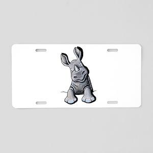 Pocket Rhino Aluminum License Plate