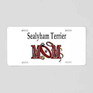 Sealyham Terrier Aluminum License Plate