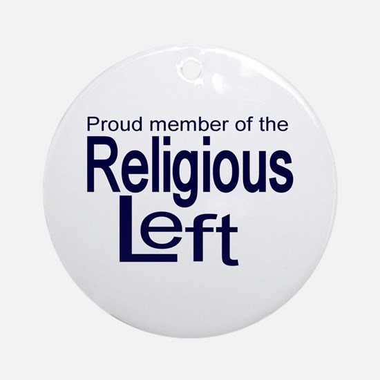 Proud member of the religious Ornament (Round)