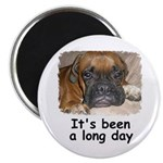 IT'S BEEN A LONG DAY (BOXER LOOK) Magnet
