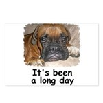 IT'S BEEN A LONG DAY (BOXER LOOK) Postcards (Packa