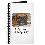 IT'S BEEN A LONG DAY (BOXER LOOK) Journal