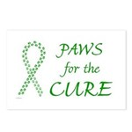 Green Paws Cure Postcards (Package of 8)