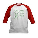Green Paws Cure Kids Baseball Jersey