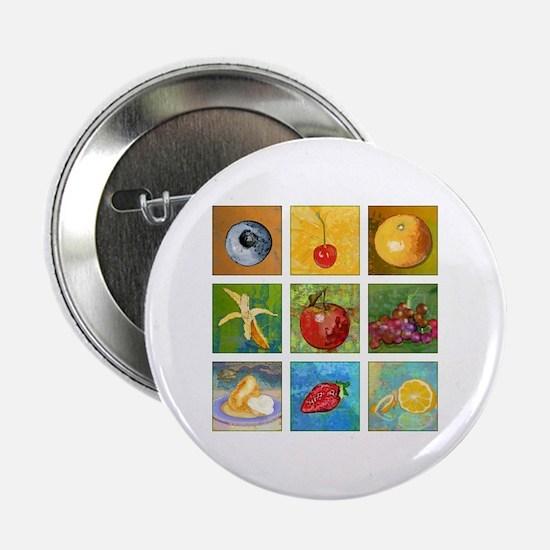 """Fruit 2.25"""" Button"""